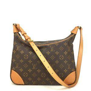 Louis Vuitton Monogram Boulogne 30 Crossbody Bag